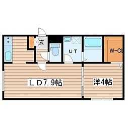 仮)栄通10丁目マンション[1階]の間取り