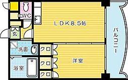 ロイヤルセンタービル[1205号室]の間取り