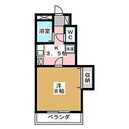 グレースガーデン青木[2階]の間取り