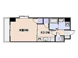 エステート36[5階]の間取り