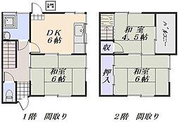 [テラスハウス] 広島県広島市安佐南区中筋4丁目 の賃貸【/】の間取り