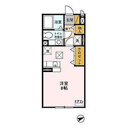 プチ・メゾンK&K[102号室]の間取り