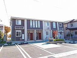 群馬県前橋市広瀬町1丁目の賃貸アパートの外観
