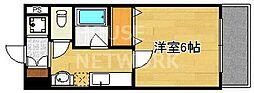 S-FORT京都西大路(旧グランドパレス西大路七条)[507号室号室]の間取り