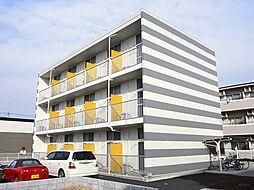 神奈川県海老名市社家の賃貸マンションの外観