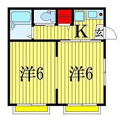 第一セラミックハウス[2階]の間取り