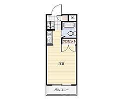 ハレマヒナ[2階]の間取り