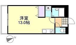コンフォース亀山I[207号室]の間取り