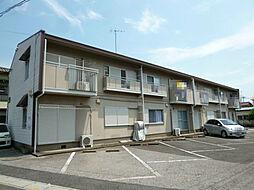 埼玉県北本市本宿8丁目の賃貸アパートの外観