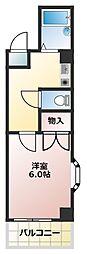大阪府大阪市浪速区恵美須西2丁目の賃貸マンションの間取り