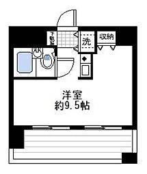 コスモ伊勢佐木長者町[7階]の間取り