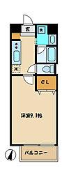 プランドールサクラ[4階]の間取り