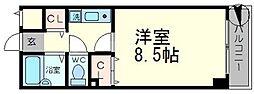 サンライズ3[2階]の間取り