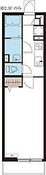 リブリ・タウンコート[1階]の間取り