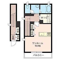 アーバンライフ桜[2階]の間取り