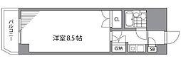 IVY HOUSE[107号室]の間取り