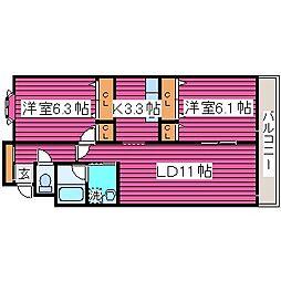Lilys House[3階]の間取り