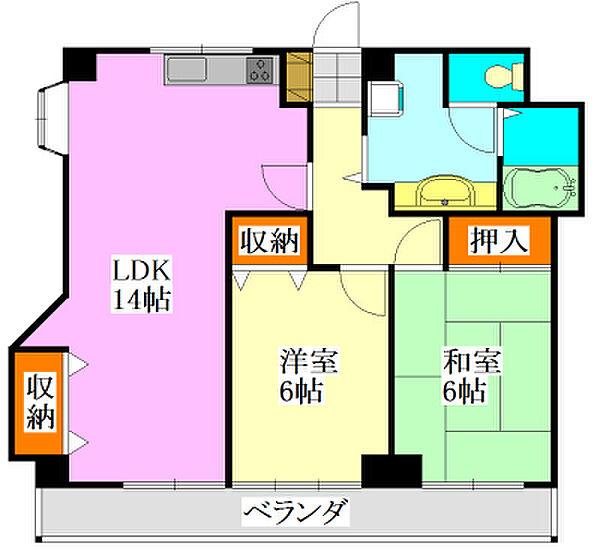 千葉県船橋市前原西6丁目の賃貸マンションの画像