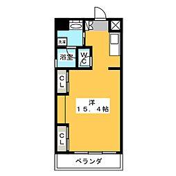 S・ALLEY[5階]の間取り