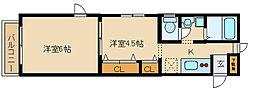 メゾン神田[2階]の間取り