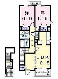 ソ・ラII[2階]の間取り