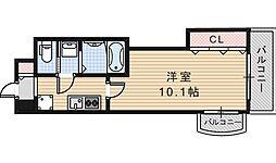 Luxe天王寺[704号室]の間取り