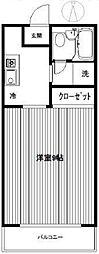 シントミプラザ徳丸[2階]の間取り