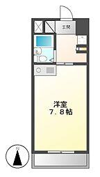Komodokasa Miwa[3階]の間取り