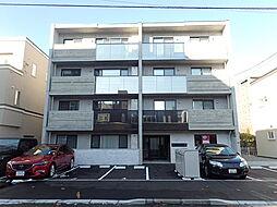 北海道札幌市中央区北二条西20の賃貸マンションの外観