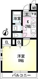 SunWell[2階]の間取り