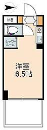 東京都八王子市四谷町の賃貸マンションの間取り