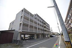 福岡県古賀市花鶴丘1丁目の賃貸マンションの外観