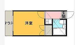 小枝パレス[2階]の間取り