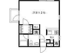 SHIRAKOアパートメントハウス[304号室]の間取り