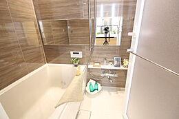 ゆったりとした浴槽で、毎日のリフレッシュタイムをお過ごしいただけます