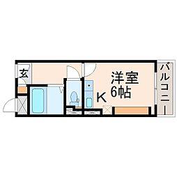 リープ甲子園口[3階]の間取り