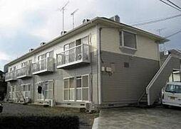 東京都町田市高ケ坂の賃貸アパートの外観