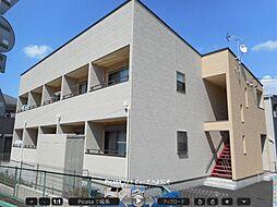 埼玉県東松山市御茶山町の賃貸アパートの外観