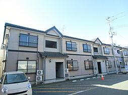 新潟県新潟市東区中山8丁目の賃貸アパートの外観