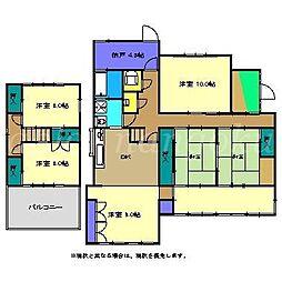 [一戸建] 高知県南国市駅前町2丁目 の賃貸【/】の間取り