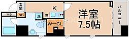 セレッソコートリバーサイドOSAKA[3階]の間取り
