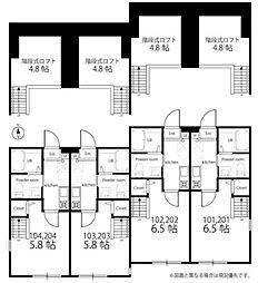 ハーミットクラブハウス茅ヶ崎(仮[202号室]の外観