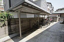 兵庫県西宮市中須佐町の賃貸アパートの外観