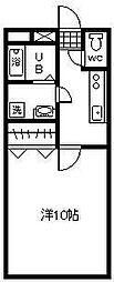 ラフィ-ナサイト2[2階]の間取り