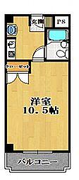 メゾンドソレイユ太田[2階]の間取り