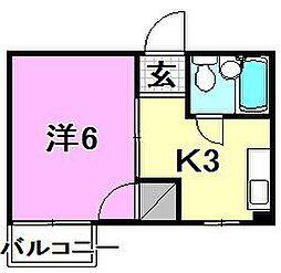 玉井ビル[305 号室号室]の間取り