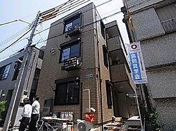 東京都足立区柳原1丁目の賃貸アパートの外観