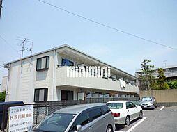 愛知県名古屋市名東区牧の里2丁目の賃貸アパートの外観