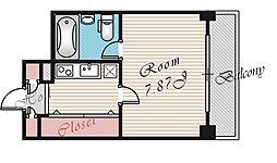 HF梅田レジデンスTOWER[1704号室号室]の間取り