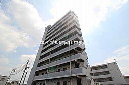 岡山県岡山市中区江並の賃貸マンションの外観